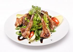 Salat-mit-Lamm