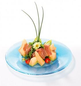 Vorspeise-Melone